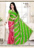 Lehariya Printed Saree