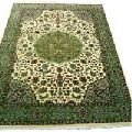 Single Wept Hand Knotted Woolen Carpet