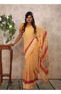 Printed Uniform sarees