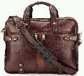 Mens Teakwood Genuine Leather Sling Bag (SKU: MB-28-BROWN)