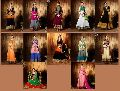 Heavy Long Anarkali Semi Stitch Salwar Suit