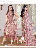 Cotton Semi Stitch Salwar Suit