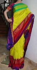 Pochampally ikkath silk saree.
