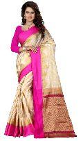 Heavy Aura Silk Saree