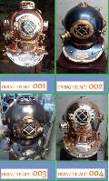 Nautical Diving Helmets