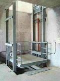 Hydraulic Double Mast Goods Lift