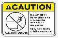 Caution Stickers