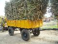 Four Wheeled Double Tipping Trailer