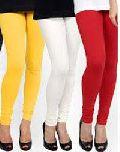 Ladies Cotton Lycra Leggings