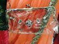 transparent clutch bags