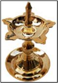Udipi Samai Oil Lamp Brass