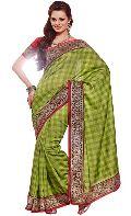 Manjula Green Exclusive Designer Art Silk Saree