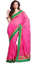 Manjula Rani Exclusive Designer Suffy Net Jequared Saree