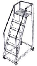 aluminum trolley ladder