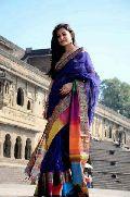 Maheshwari Rainbow Border Sarees