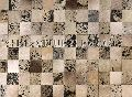Leather Hide Patchwork Rugs