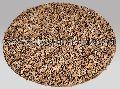 Round Leather Shag Carpet