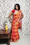Linen by linen silk sarees with selver n goldan jari