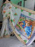 Bishnupuri Printed Silk Sarees