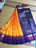 Kanchipuram Korvai Silk Cotton Sarees