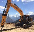 excavator rental service