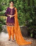 Hot Designer Cotton Patiyala Suit