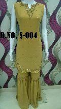 Simply Sober Hand Work Sharara Suit