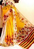 Hand Painted Kerala Cotton Sarees