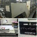 Mitsubishi 1f four colour offset printing machine for sale