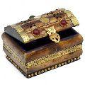 Bone Brass Jewelry Box