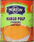 Morton Totapuri Sweetened Mango Pulp
