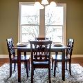 4 Chair Square Dining Set