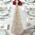 Golden Crystal Christmas Tree