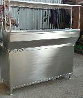 Stainless Steel Bain Marie Pav Bhaji Counter