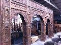 Wood Arch Entry Door