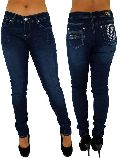 Blumelt Premium Ladies Silk Denim Jeans