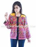 Bohemian Banjara Handmade Embroidered Jacket
