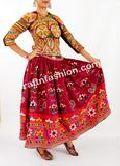Gypsy Hand Embroidered Rabari Skirt