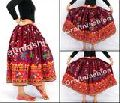 Indian Hand Embroidered Rabari Girl's Skirt