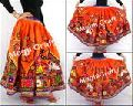Vintage Gypsy Kutch Hand Embroidery Skirt