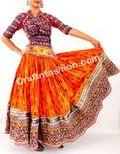 Vintage Kutchi Gypsy Handmade Rabari Skirt