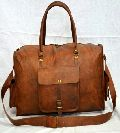 PH059 Genuine Leather Duffle Bag