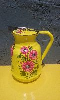 Hand painted fancy jug