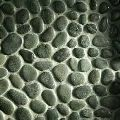 Grey River Flat Pebbles Mosaic