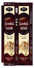 Golden Sandal Wood Incense Sticks