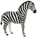 Leather Animal Zebra statue