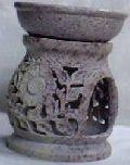 Soap Stone Aroma Lamp - 9929
