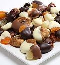 Dry Fruit Dipped Chocolates