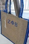 Customized Two colour Jute Shopping bag