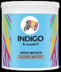 Silver Series  Acrylic Distemper Indigo Paint